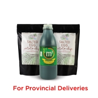 Wellness Snack Pack! 1x 1L M2 Tea Drink & 2x Salted Egg Chips - PROVINCIAL