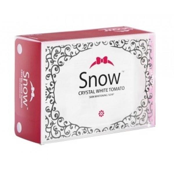 Snow Crystal White Tomato Skin Whitening Soap 135g
